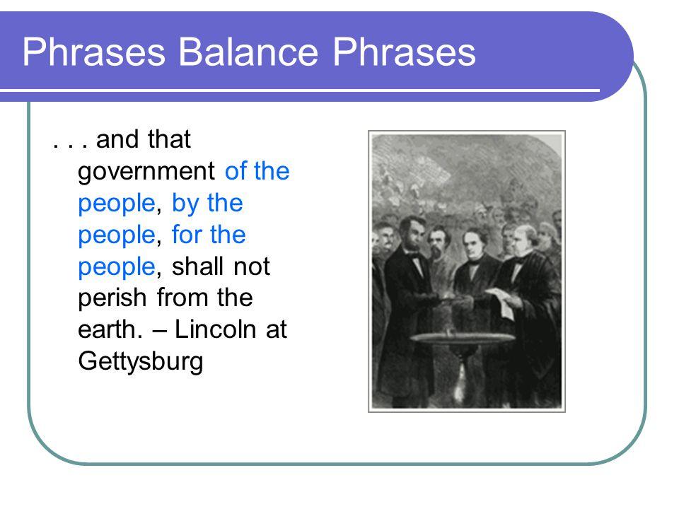 Phrases Balance Phrases...