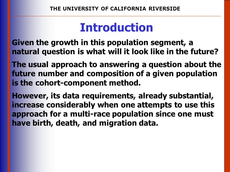 THE UNIVERSITY OF CALIFORNIA RIVERSIDE The University of Mississippi Institute for Advanced Education in Geospatial Science Discussion Some cautions are in order, of course.