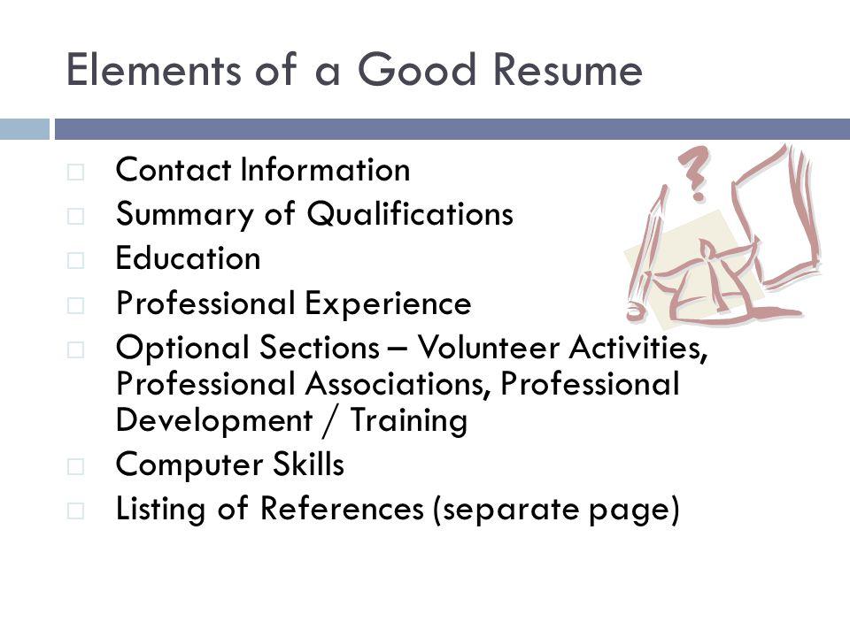 Resume for computer service technician