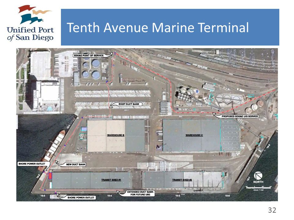 Tenth Avenue Marine Terminal 32