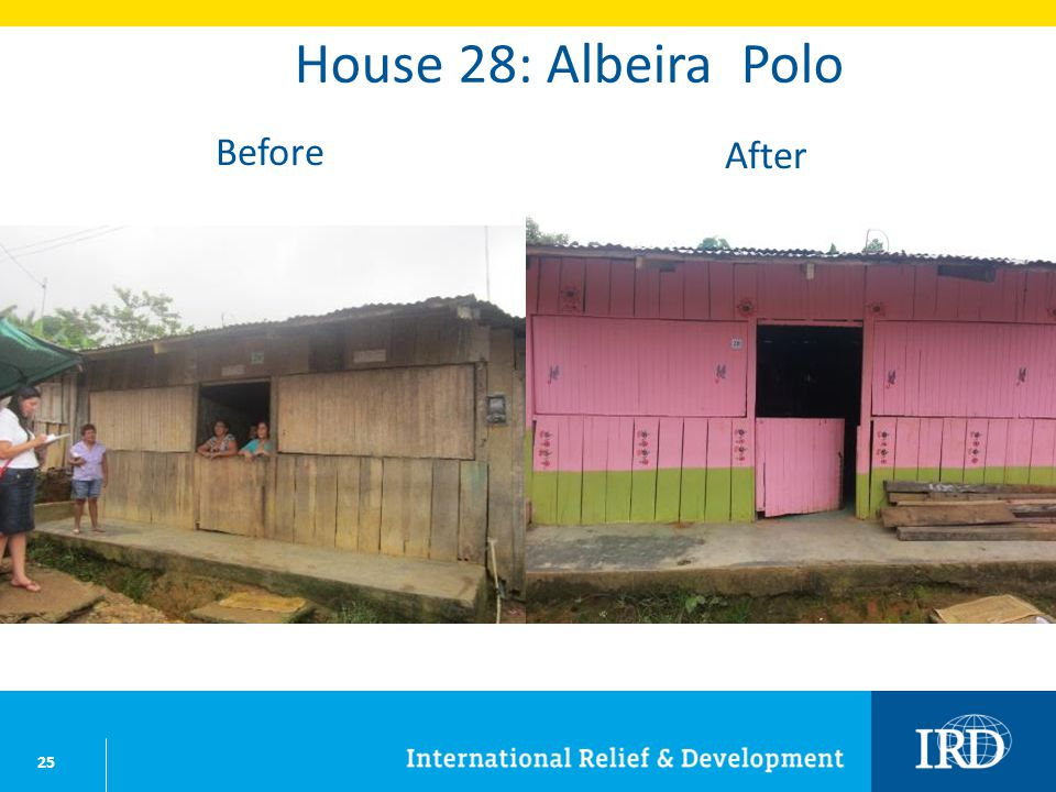 25 House 28: Albeira Polo Before After