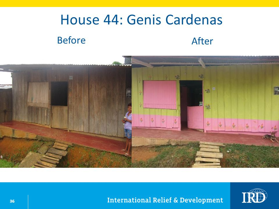 36 House 44: Genis Cardenas Before After