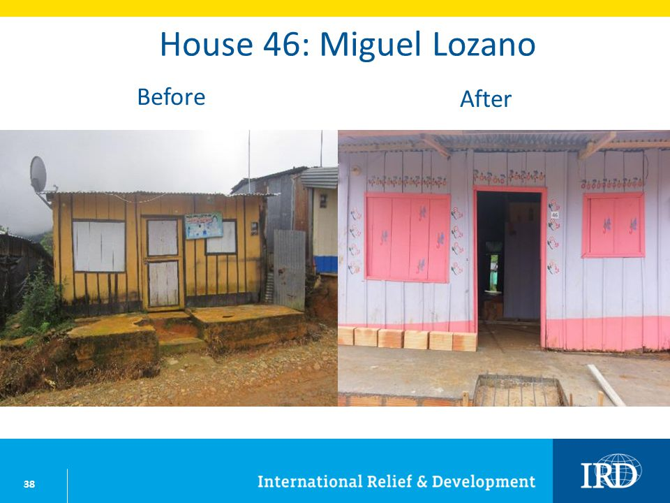 38 House 46: Miguel Lozano Before After
