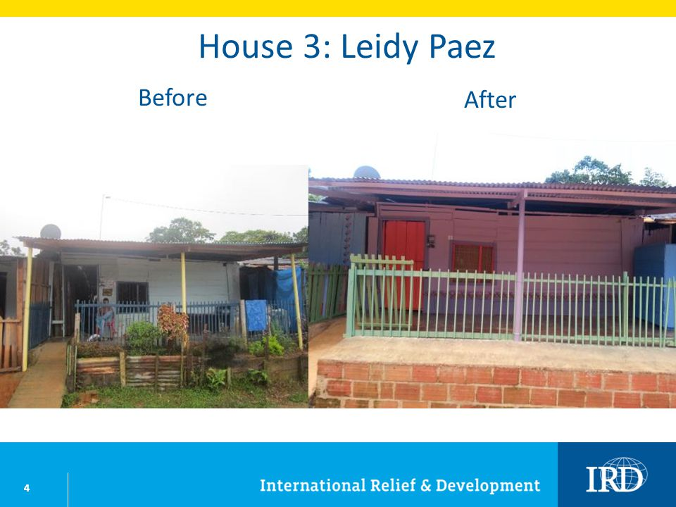 35 House 43: Jesus Maria Bustos Before After