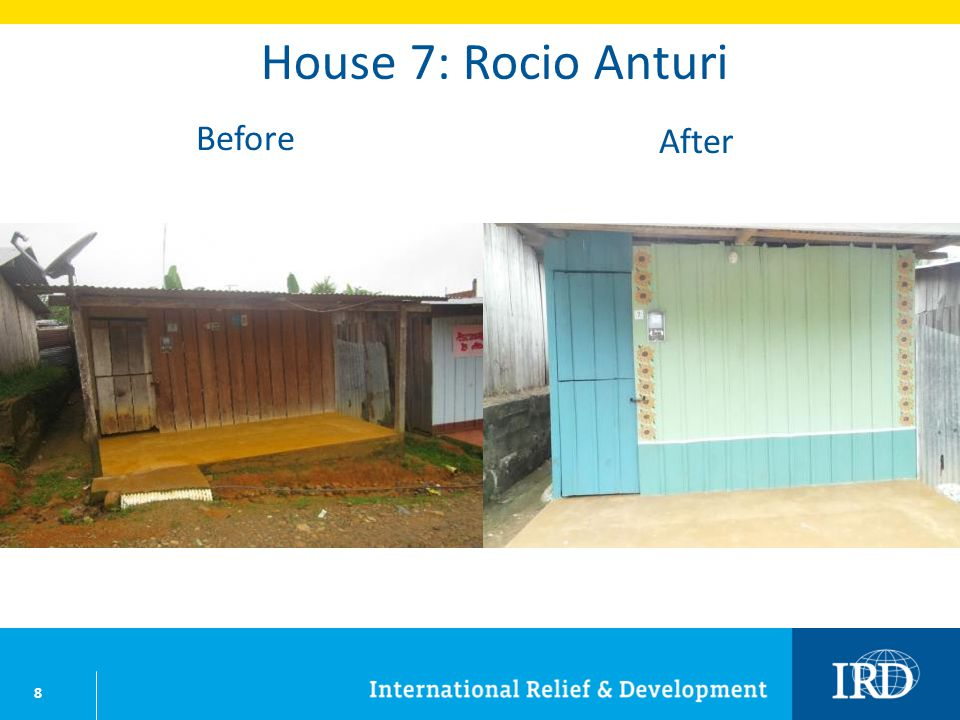 29 House 32: Yomaira Cotacio Before After
