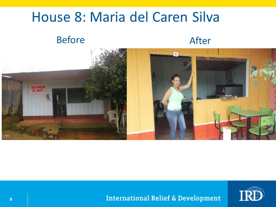 10 House 9: Maria Ofelia Buitrago Before After