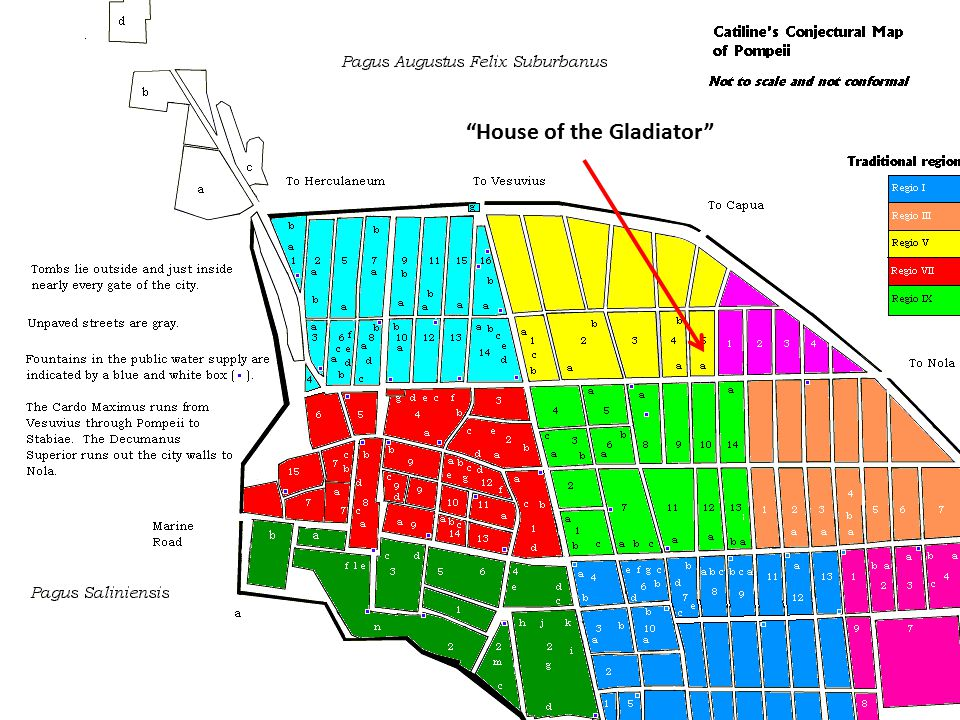 """House of the Gladiator"""