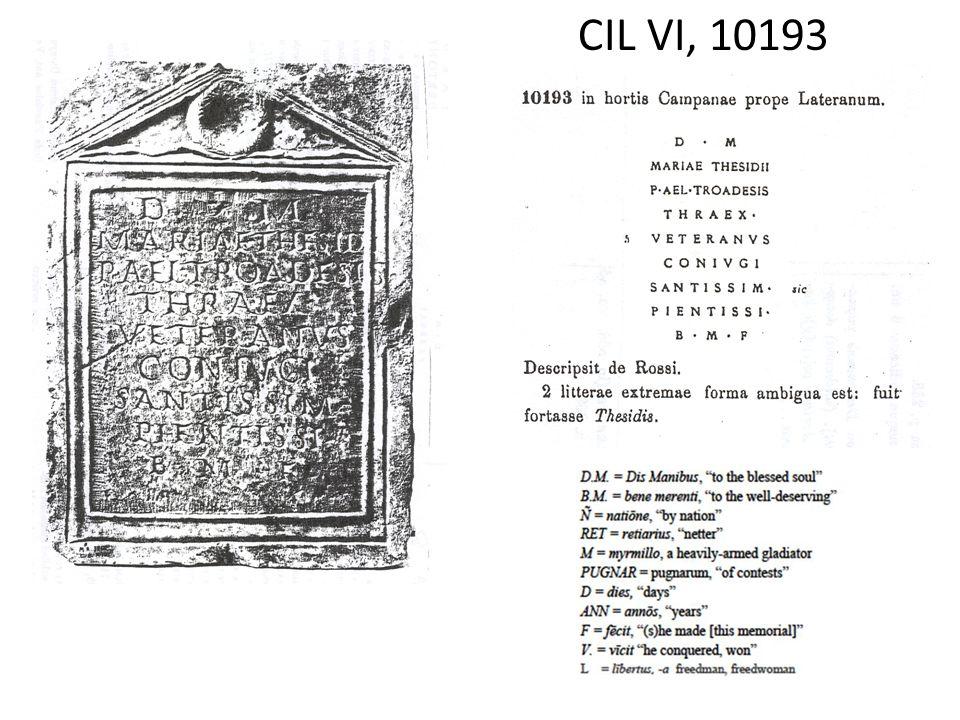 CIL VI, 10193
