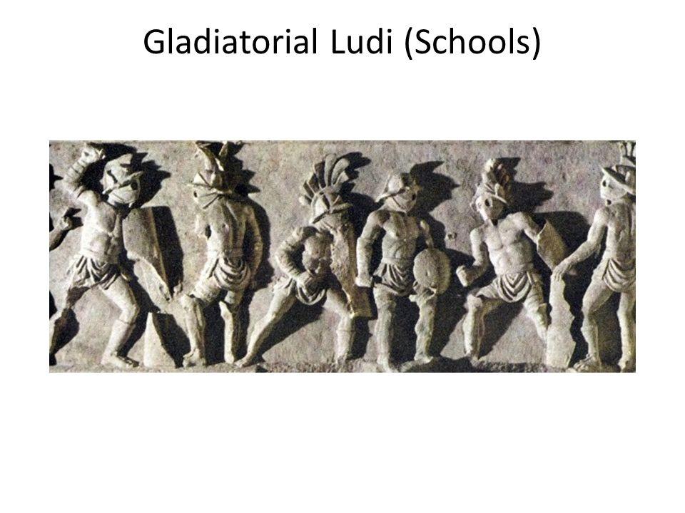 Gladiatorial Ludi (Schools)