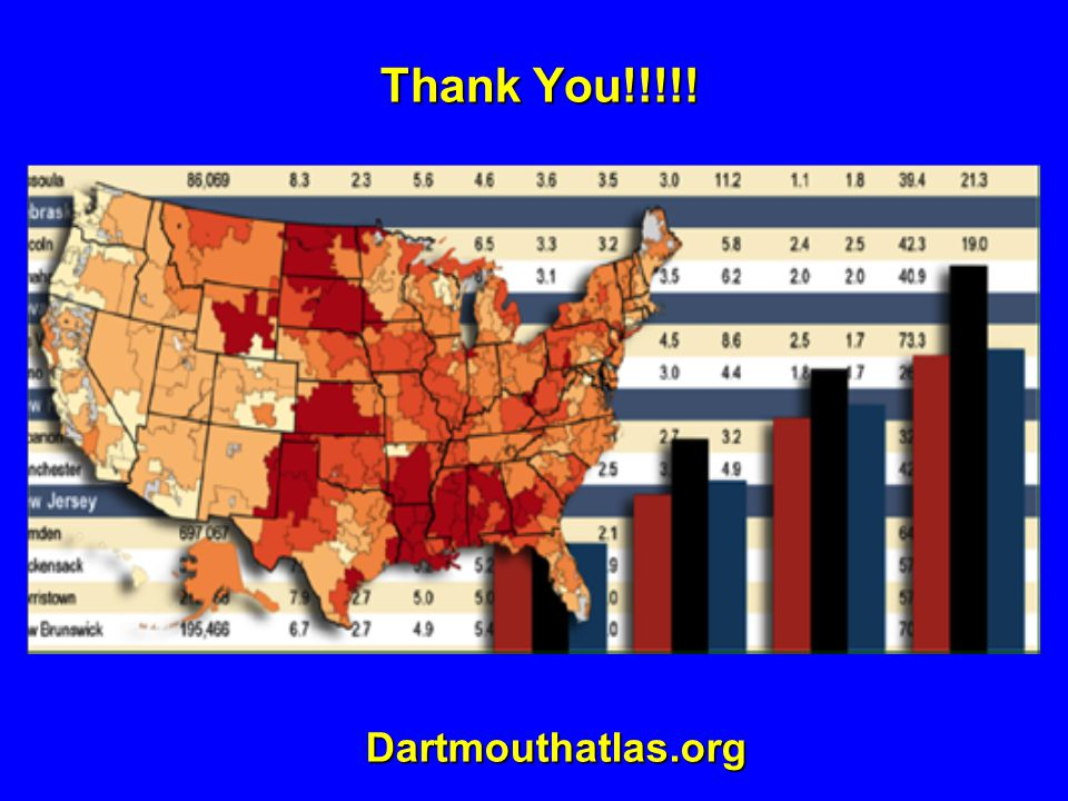 Dartmouthatlas.org Thank You!!!!! Thank You!!!!!