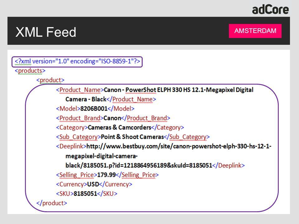 XML Feed AMSTERDAM
