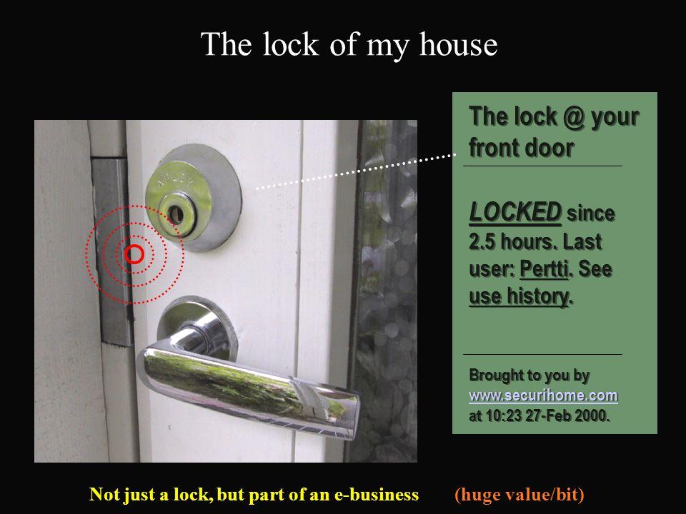 The lock of my house Ulko-oven lukko The lock @ your front door LOCKED since 2.5 hours.