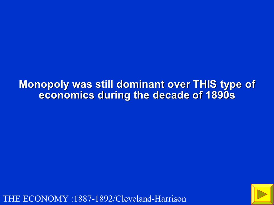 What is the Supreme Court interpreted the Sherman Anti-Trust Act to apply to labor unions and farmers' cooperatives as much as to large corporate combinations 100 THE ECONOMY :1887-1892/Cleveland-Harrison