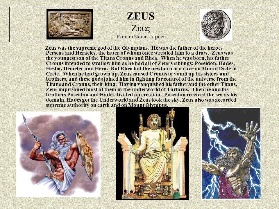 HERA  Roman Name: Juno Hera was the goddess of marriage.