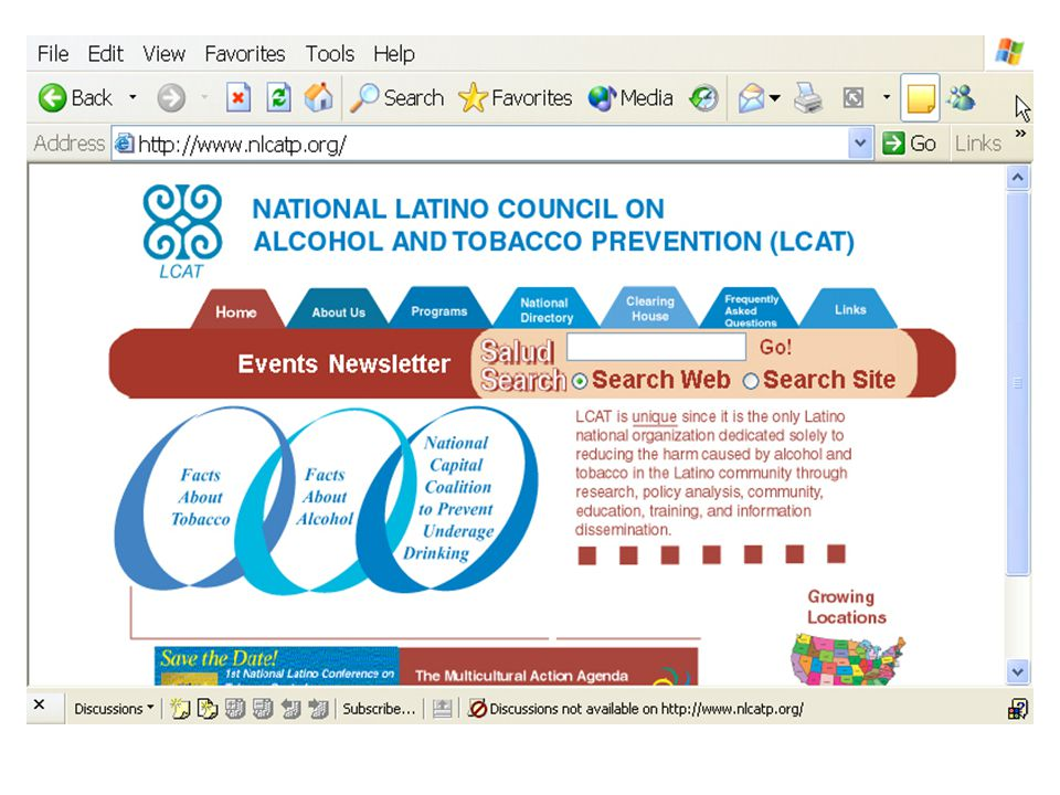 National Latino Council on ATP-- LCAT