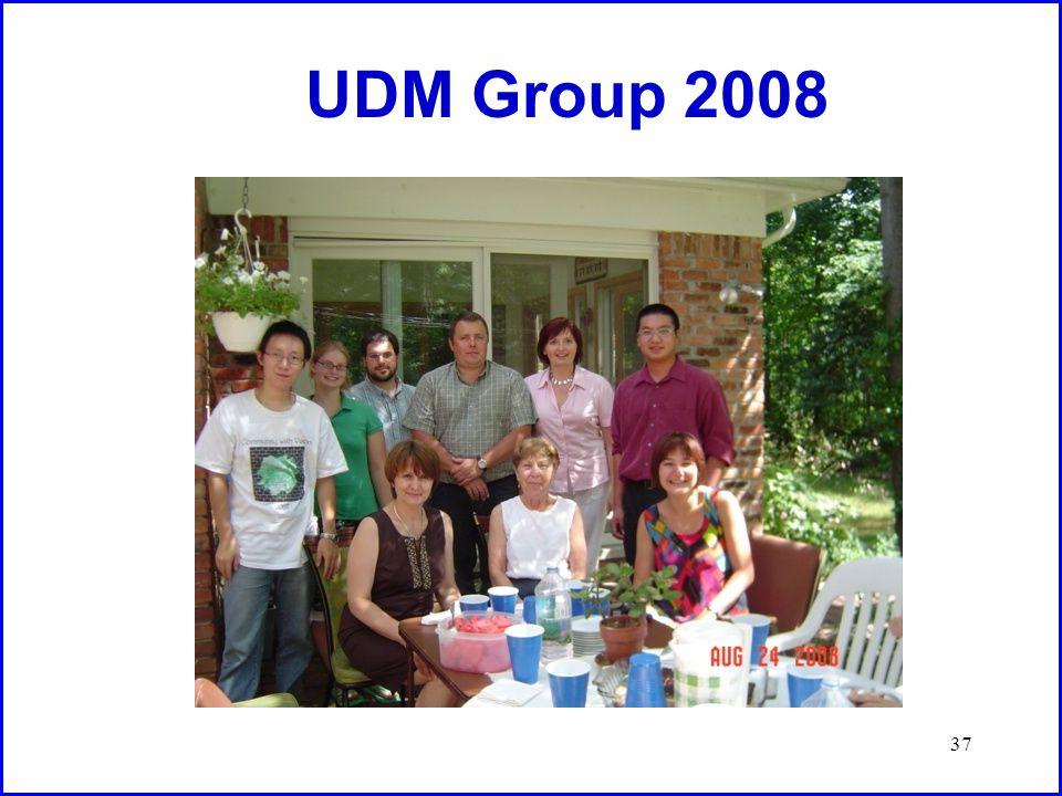 37 UDM Group 2008