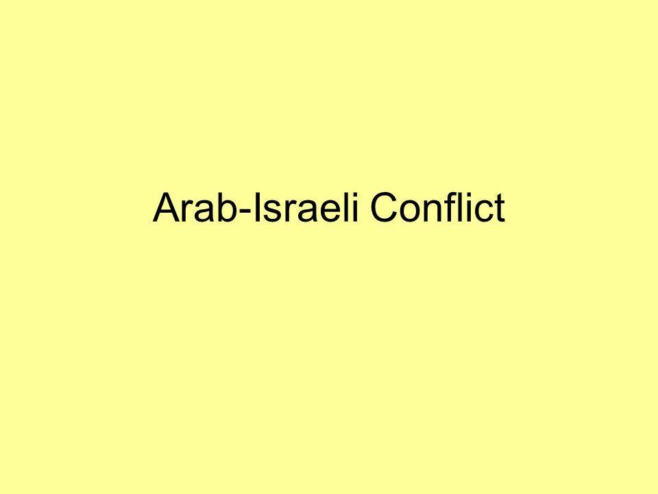 Peace in 1979 Following Israel's near defeat in the 1973 Yom Kippur War Israel became much more amenable to peace.