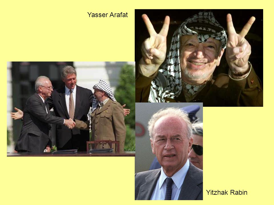 Yitzhak Rabin Yasser Arafat