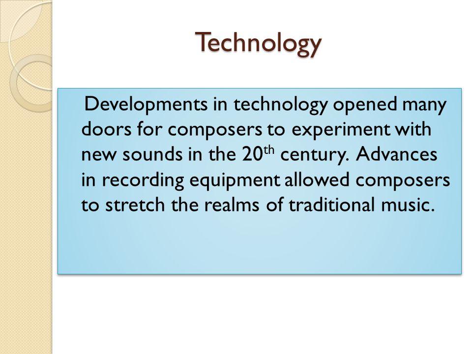 Atonality Atonal music has no feeling of key, major or minor.