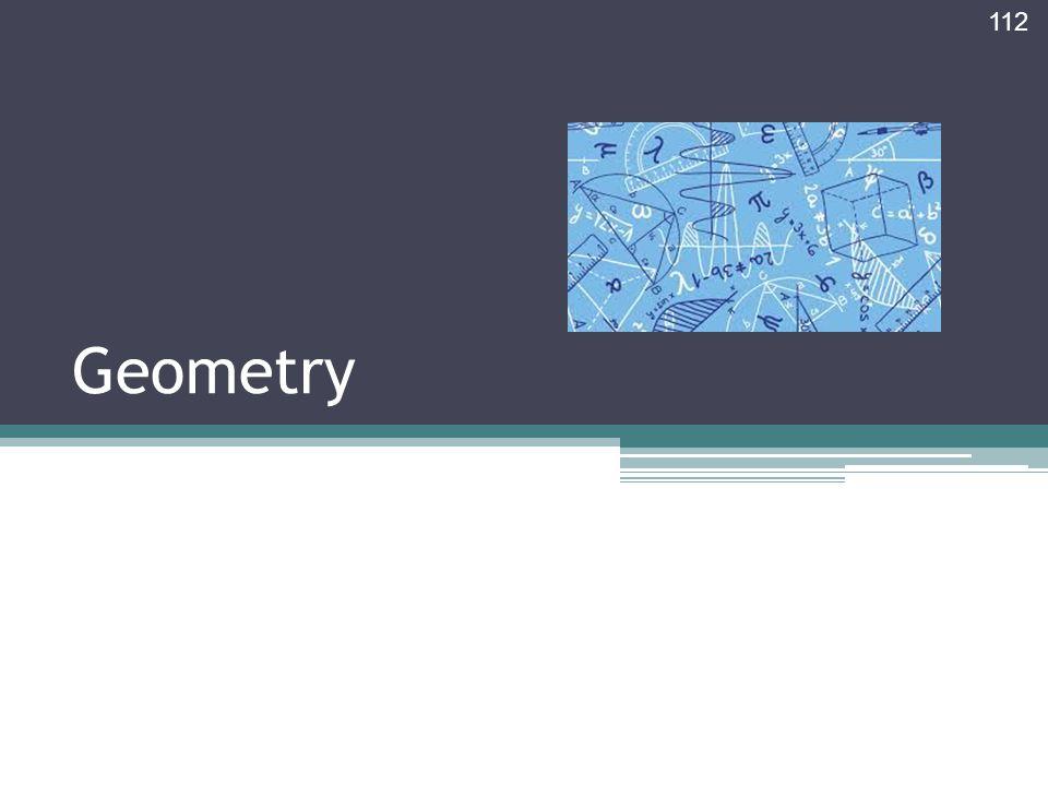 Geometry 112