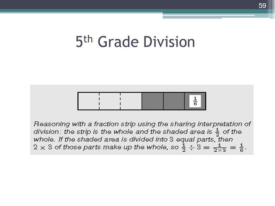 5 th Grade Division 59