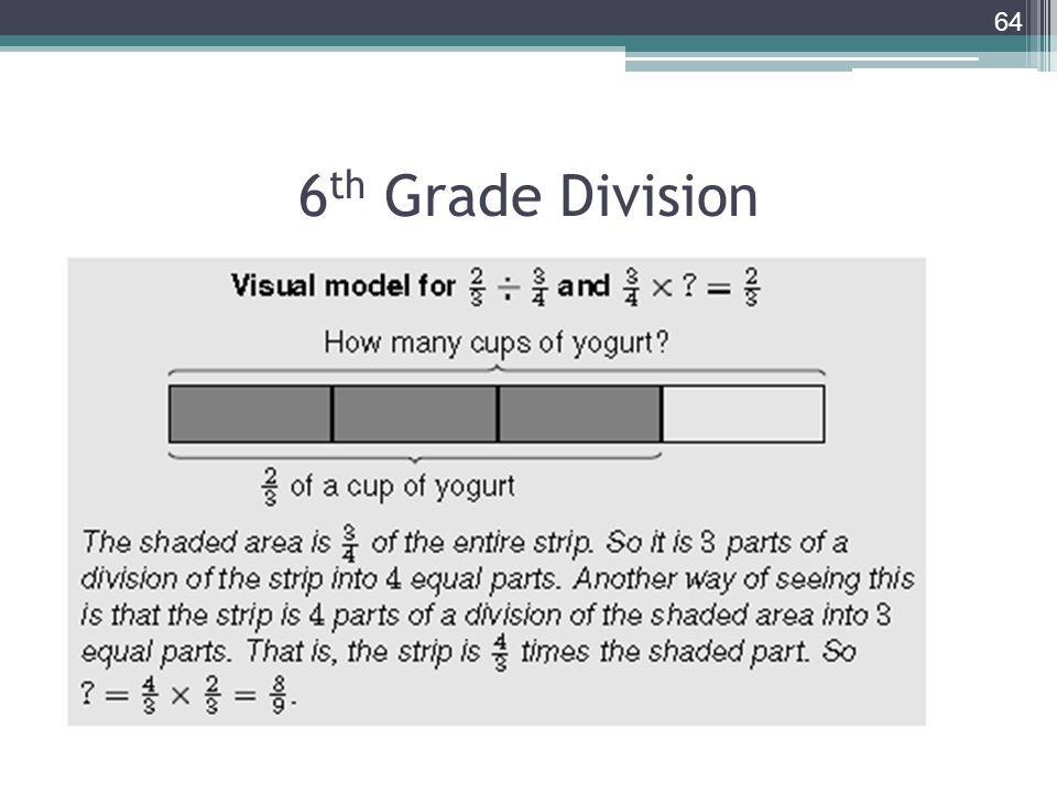 6 th Grade Division 64