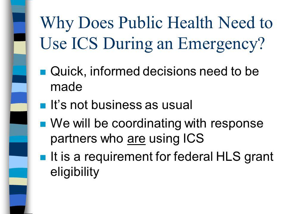 Public Health Center ICS