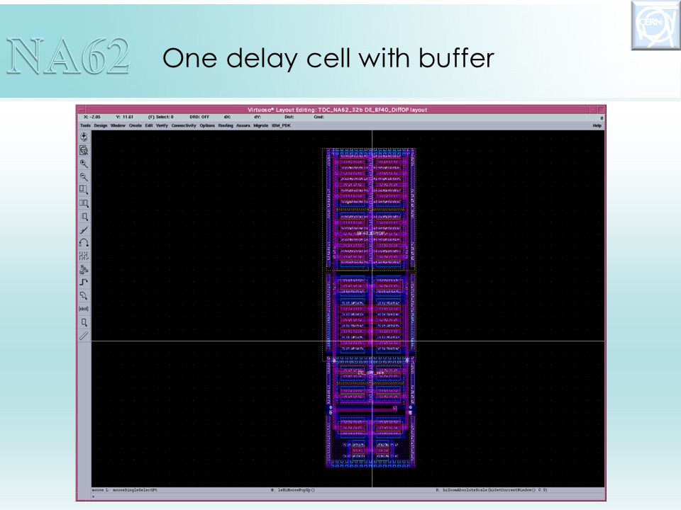 One delay cell with buffer