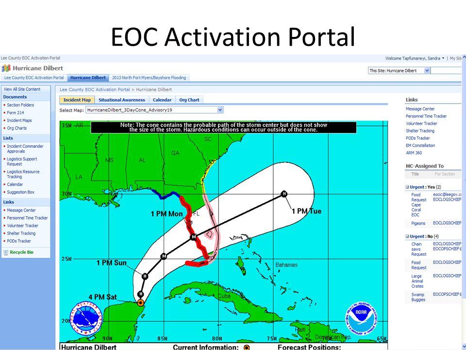 EOC Activation Portal