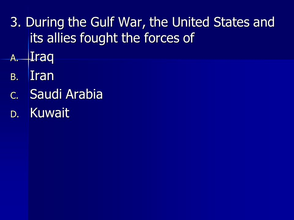 4.Effects of the events on September 11, 2001, include A.