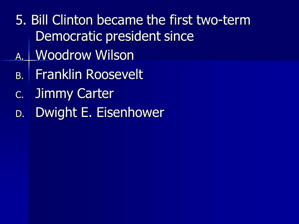 6.In the presidential election of 2000, the vote count in Florida was ultimately decided by A.