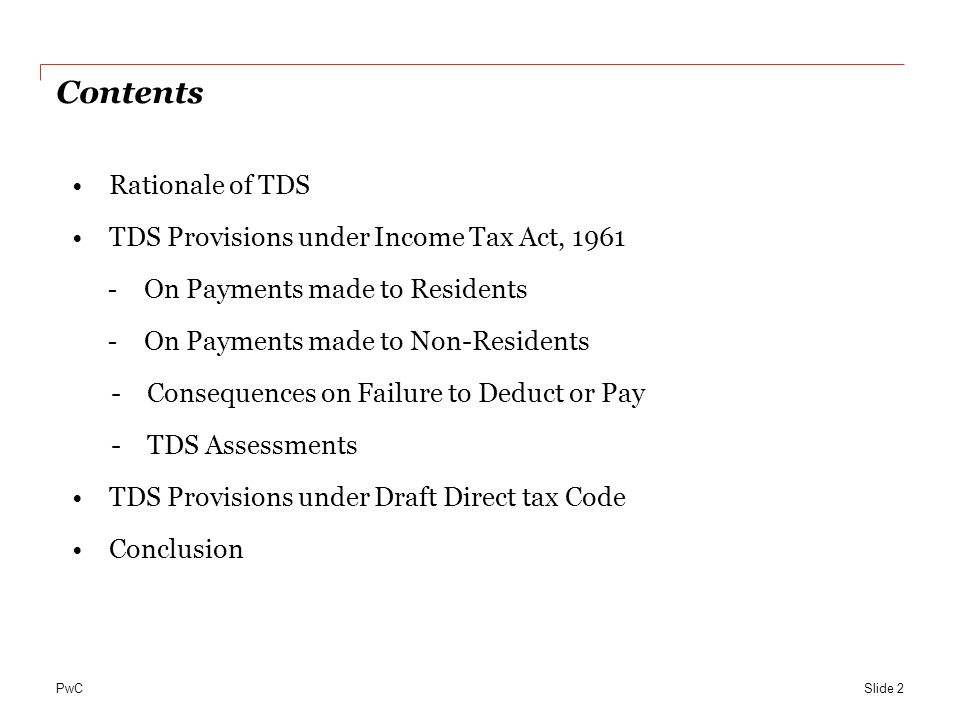 PwC …Consequences of Failure to Deduct or Pay… Slide 23 Section 40(a)(i)/(ia) Section 201 1.