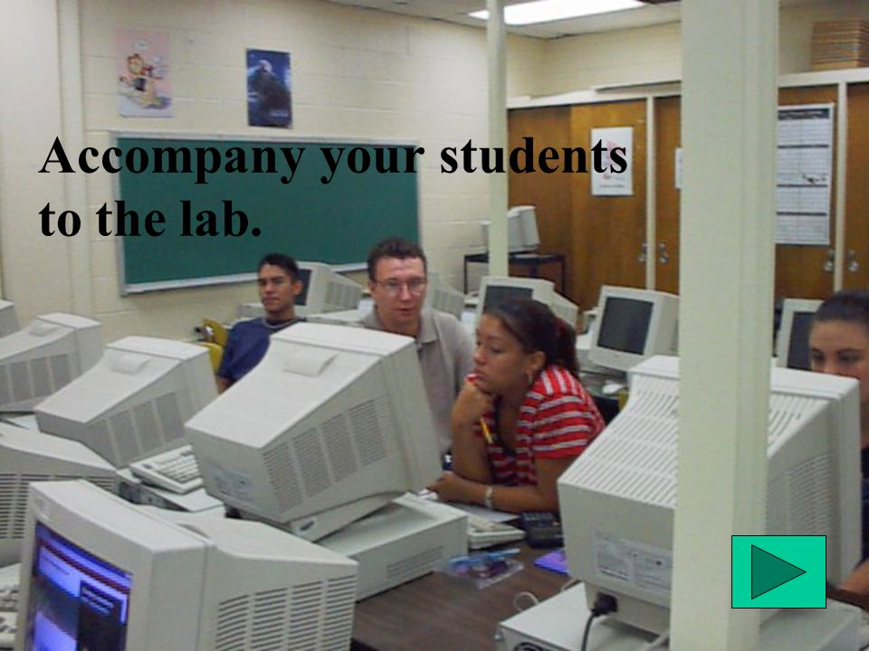Remember. A computer program is a teaching tool.