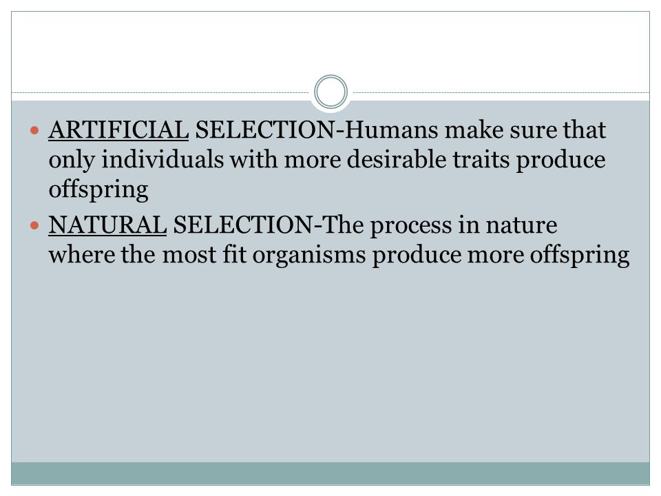 The process by which new species form is called speciation.