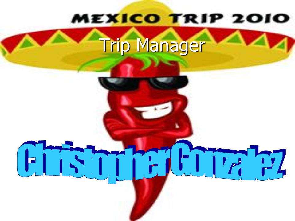 Trip Manager Trip Manager