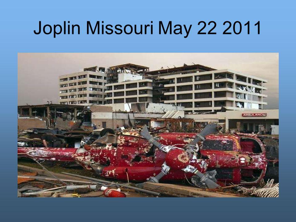 Joplin Missouri May 22 2011