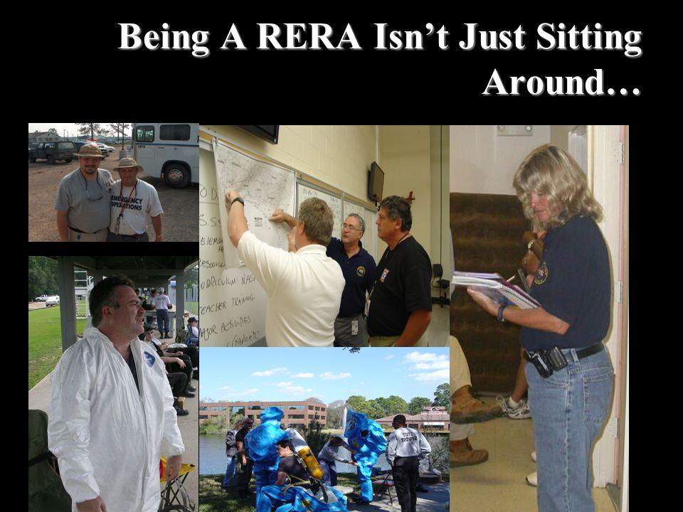 Being A RERA Isn't Just Sitting Around…