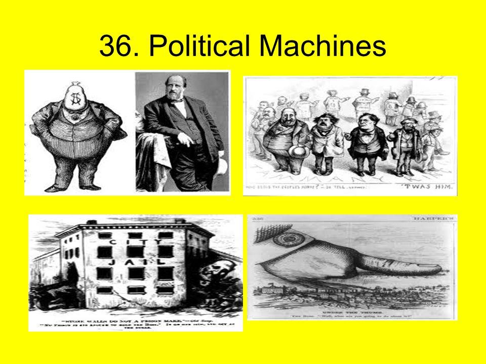 36. Political Machines