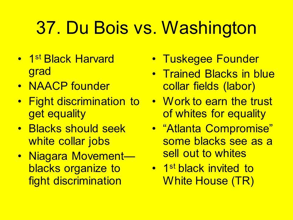 37. Du Bois vs.