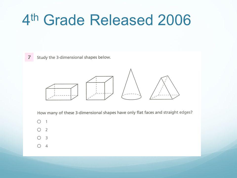 4 th Grade Released 2006