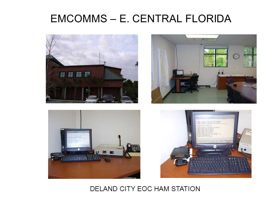 EMCOMMS – E. CENTRAL FLORIDA DELAND CITY EOC HAM STATION