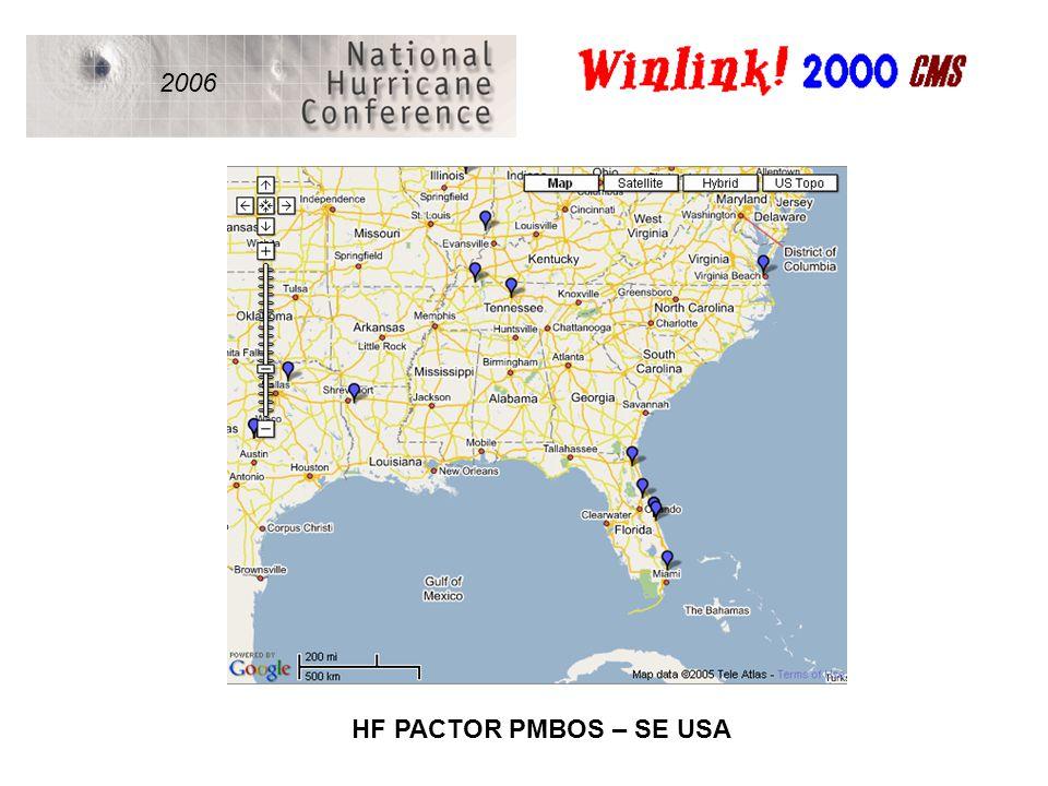 2006 HF PACTOR PMBOS – SE USA