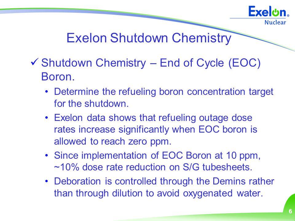 7 Pre-Outage / Shutdown Dose Rates