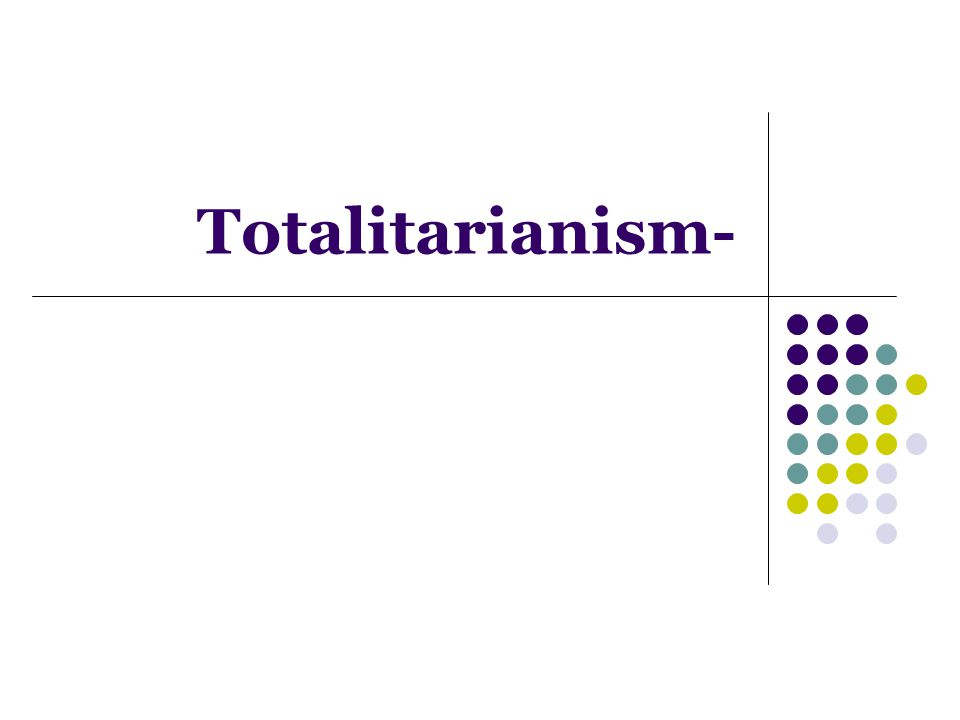 Totalitarianism-