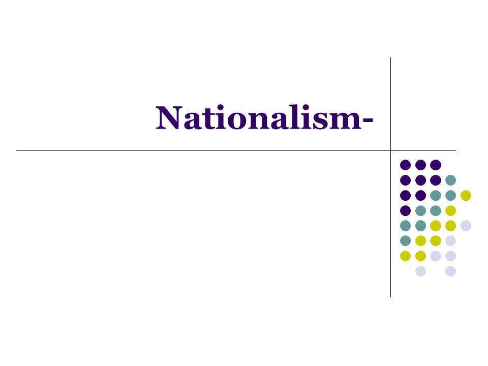 Nationalism-