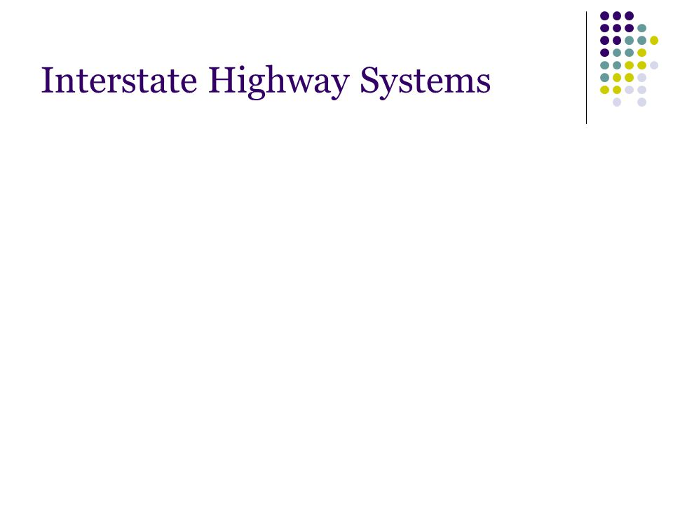 Interstate Highway Systems