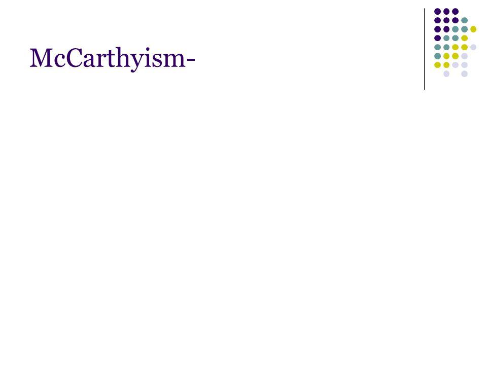 McCarthyism-