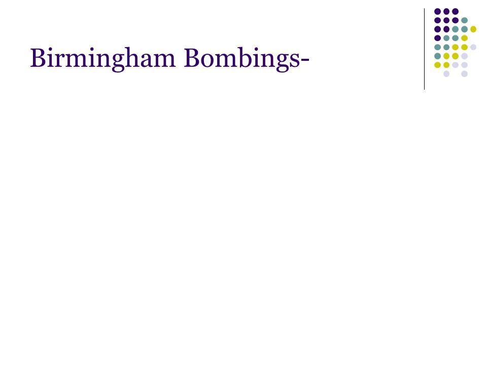 Birmingham Bombings-