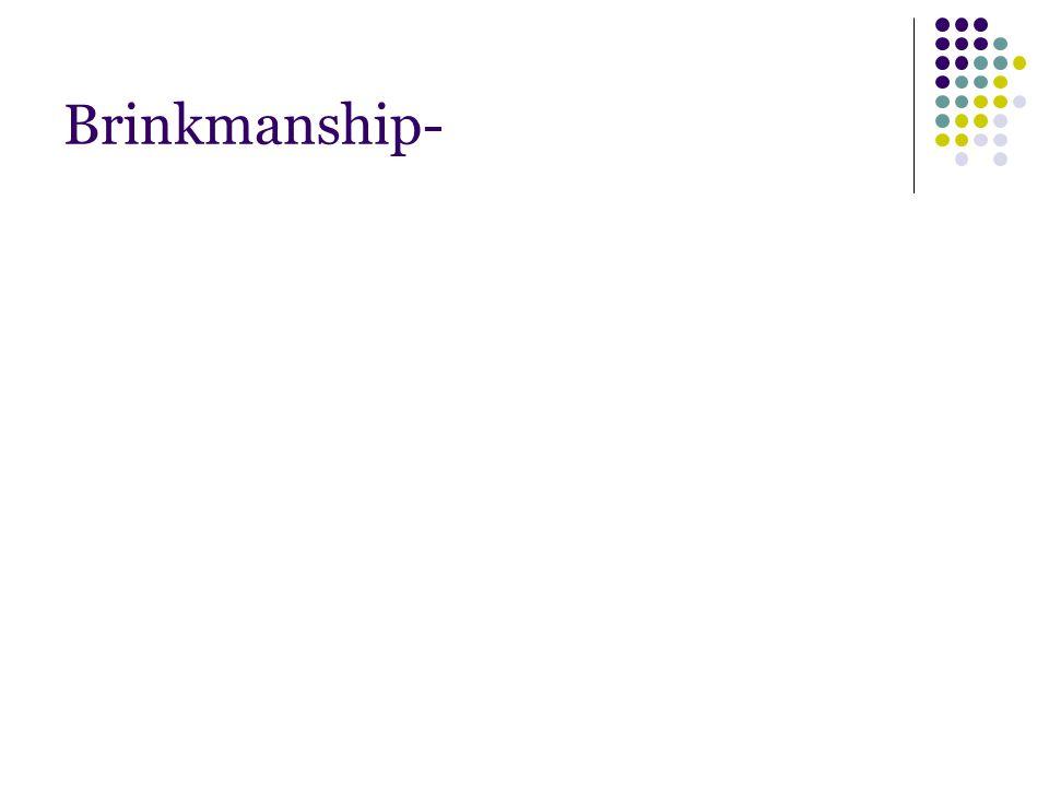 Brinkmanship-