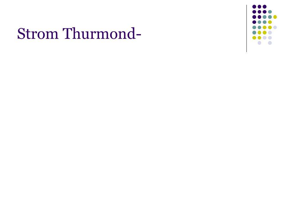 Strom Thurmond-